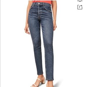 Reformation Serena High Rise Skinny Jeans 26